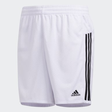 Youth Yoga White Ultimate Mesh Shorts