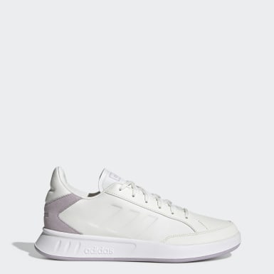 Women Sport Inspired White Netpoint Shoes