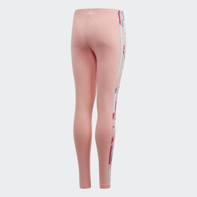 เด็ก Originals สีชมพู กางเกงเลกกิ้ง