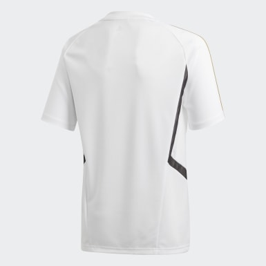 Youth 8-16 Years Football White Real Madrid Training Jersey
