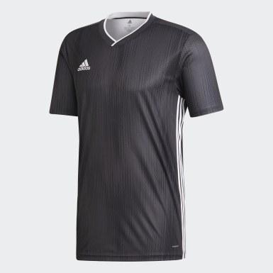 Maillot Tiro 19 gris Hommes Soccer