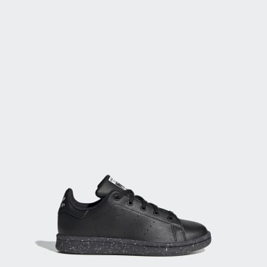 Tenis Stan Smith (UNISEX) Negro Niño Originals