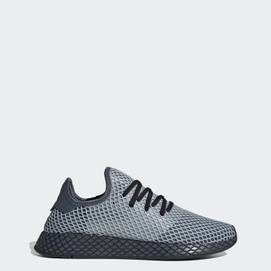 Men Originals Blue Deerupt Runner Shoes