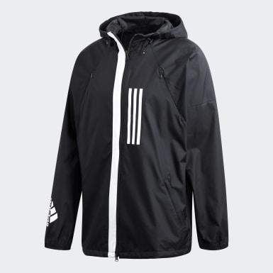 Men Athletics Black ID WND Jacket