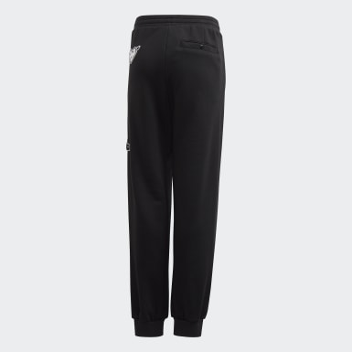 Youth 8-16 Years Athletics Black Collegiate Joggers