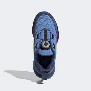 Kids Running Blue RapidaRun Boa Shoes
