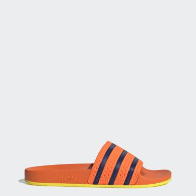 оранжевый Шлепанцы Adilette