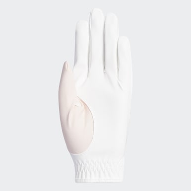 Women Golf White L-C Glove