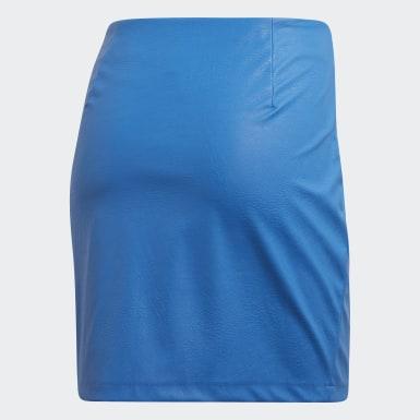 Women Originals Blue Skirt
