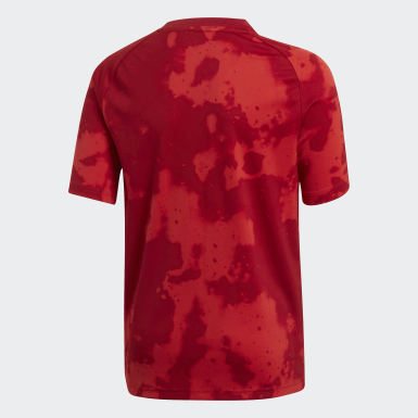 Jongens Voetbal Rood FC Bayern München Pre-Match Voetbalshirt