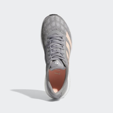 Women's Running Grey Adizero Boston 9 Shoes