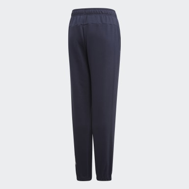 Pantalon Essentials Linear Bleu Garçons Training