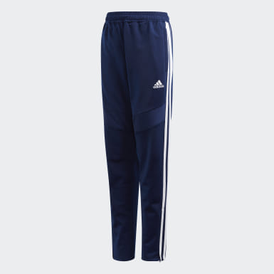 Pantalon Tiro 19 Polyester Bleu Enfants Training