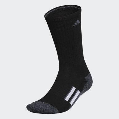Men's Training Black Cushioned X Wool Crew Socks