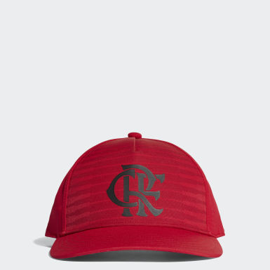 Boné CR Flamengo Vermelho Futebol