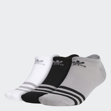 Men's Originals Grey Roller No Show Socks 3 Pairs