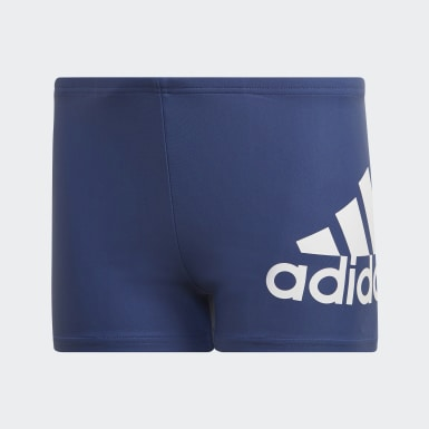 Boys Swimming Blue Badge of Sport Swim Boxers