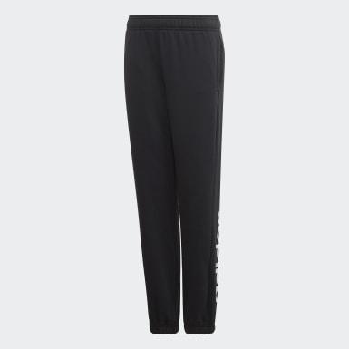 Kluci Athletics černá Kalhoty Essentials Linear