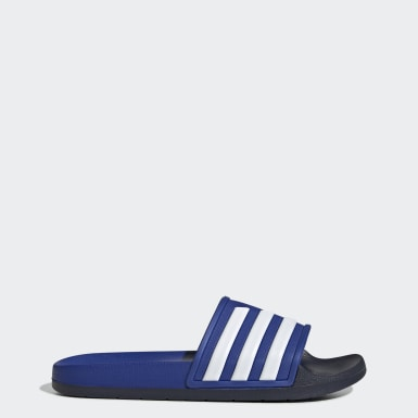 ว่ายน้ำ สีน้ำเงิน รองเท้าแตะ Adilette TND