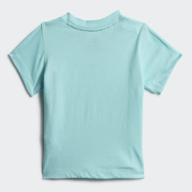 T-shirt Trefoil Bleu Enfants Originals