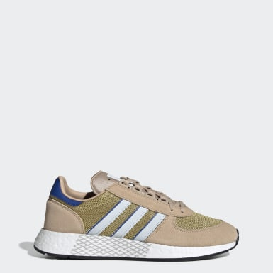 Men Originals Beige Marathon Tech Shoes