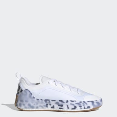 Women adidas by Stella McCartney White adidas by Stella McCartney Treino Shoes