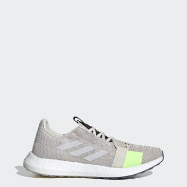Men Running Grey Senseboost GO Shoes