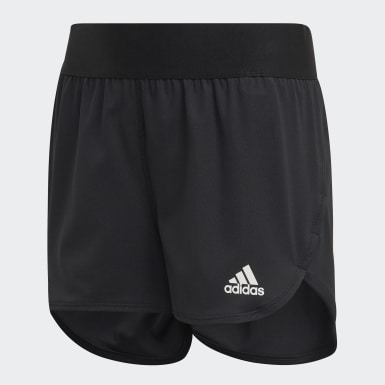 Kids Yoga Black HEAT.RDY Shorts