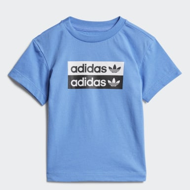 T-shirt Bleu Enfants Originals