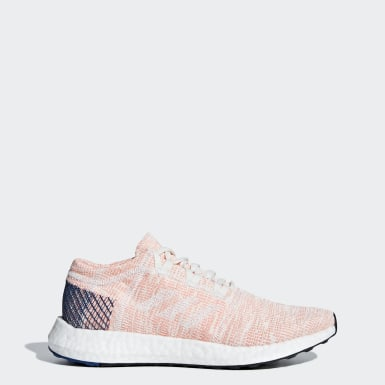 Women's Running White Pureboost Go Shoes