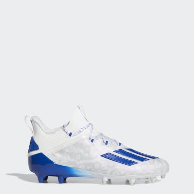 Men's Football White Adizero New Reign Cleats