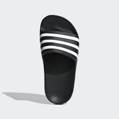 เด็ก ว่ายน้ำ สีดำ รองเท้าแตะ Adilette Aqua