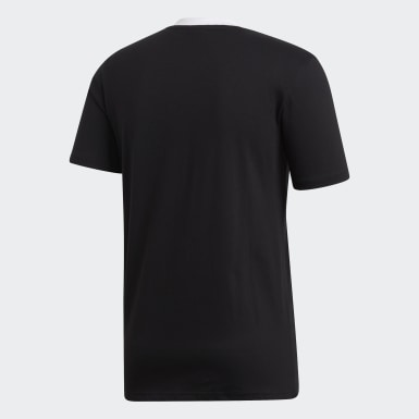 Männer Rugby All Blacks Home T-Shirt Schwarz