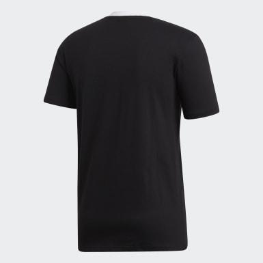 T-shirt Principal dos All Blacks Preto Homem Rugby