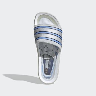Originals šedá Pantofle Adilette Premium
