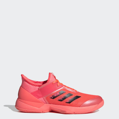 Dames Tennis Roze Ubersonic 3 Hard Court Tennisschoenen