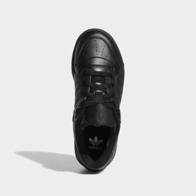 Sapatos Rivalry Low Preto Criança Originals