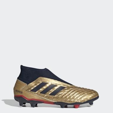 Bota de fútbol Predator 19.3 Zinédine Zidane césped natural seco