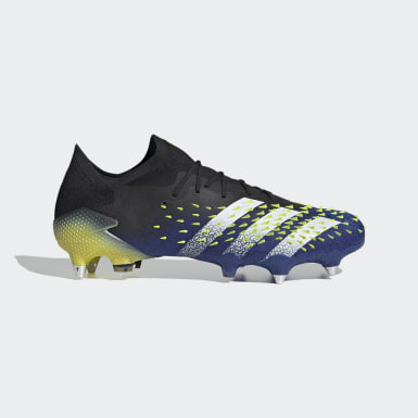 Bota de fútbol Predator Freak.1 césped natural húmedo Negro Fútbol