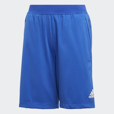 Boys Yoga Blue HEAT.RDY Shorts