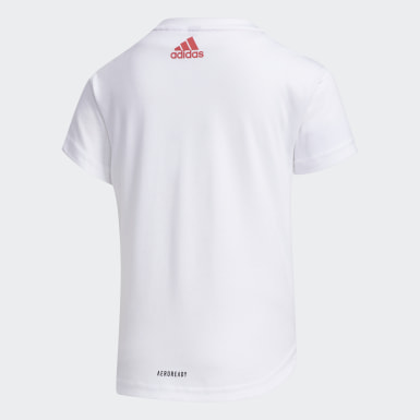 Remera Blanco Niño Training