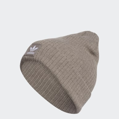 Women Originals Brown Recycled Rib Beanie