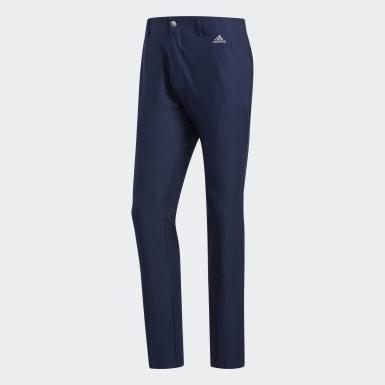 Pantaloni Ultimate365 3-Stripes Tapered Blu Uomo Golf
