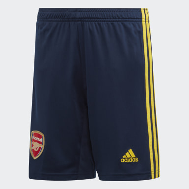 Pantalón corto segunda equipación Arsenal Azul Niño Fútbol