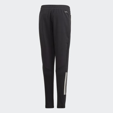 Kids Training Black Slim Woven Pants