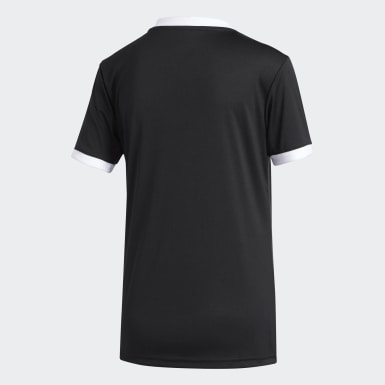 Kvinder Fodbold Sort Tiro T-shirt
