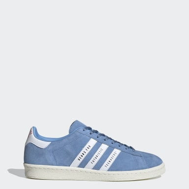 Originals Campus Human Made Schuh Blau