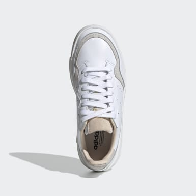 Scarpe Supercourt Bianco Bambini Originals