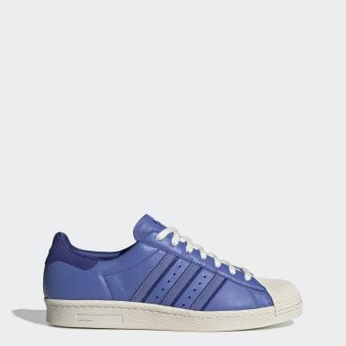 Zapatillas Superstar 80s Azul Hombre Originals