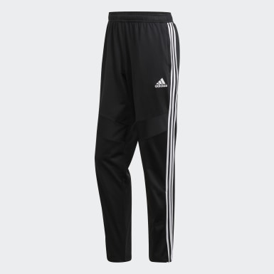Men Training Black Tiro 19 Polyester Pants